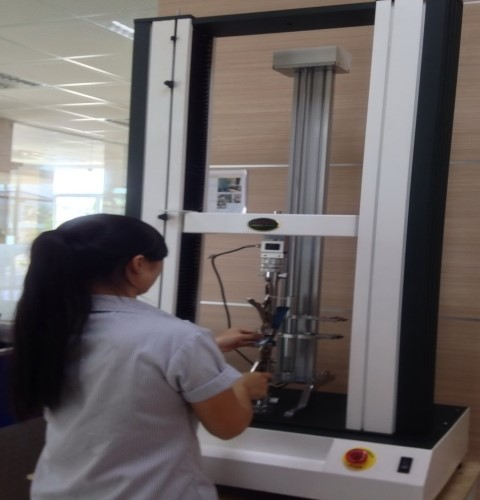 Company System Tensile Strength Testing Machine